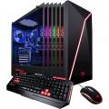 iBUYPOWER - Slate Gaming Desktop - AMD Ryzen 7 2700X - 16GB Memory - NVIDIA RTX 2070 8GB - 1TB Hard Drive + 240GB SSD - Black
