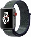 Apple - Apple Watch Nike+ (GPS + Cellular), 38mm Space Gray Aluminum Case with Midnight Fog Nike Sport Loop - Space Gray Aluminum